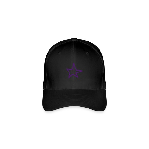 Star Outline Pixellamb - Flexfit Baseballkappe