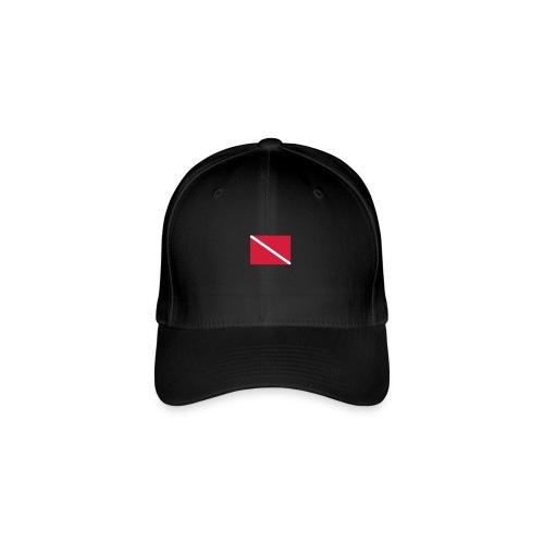 Diver Flag - Flexfit Baseball Cap