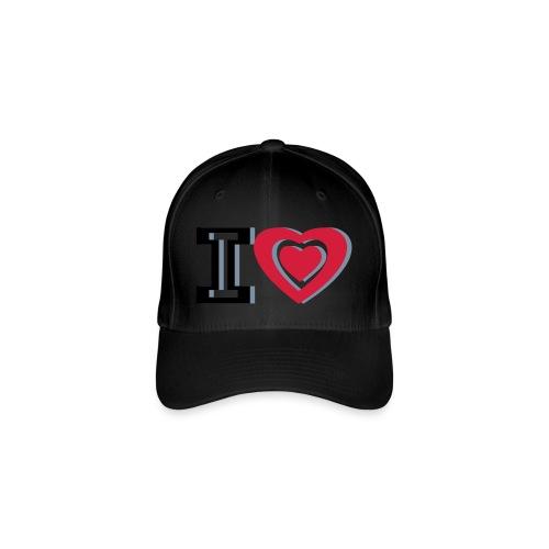 I LOVE I HEART - Flexfit Baseball Cap