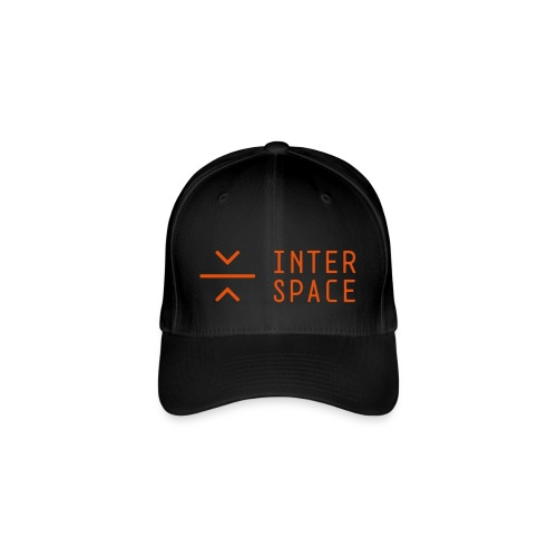 interspace logo 2 black - Flexfit basebollkeps