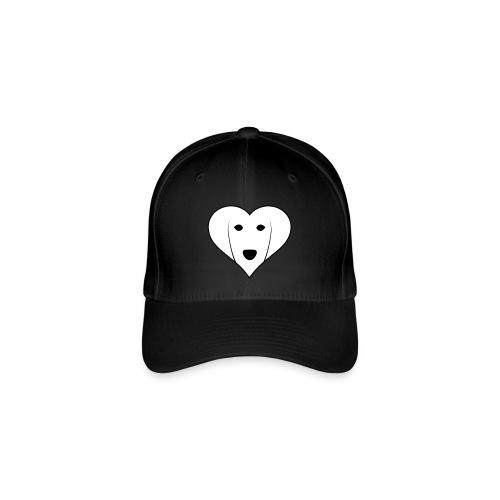Saluki Heart - Cappello con visiera Flexfit