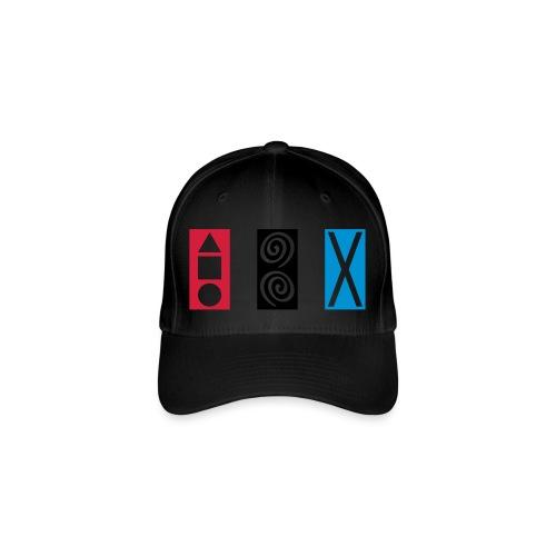 Rechteck GEO SPIRALEN X - Flexfit Baseballkappe