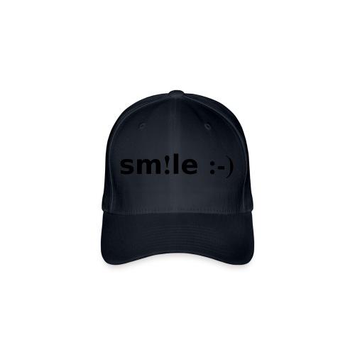 smile - sorridi - Cappello con visiera Flexfit