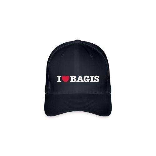 I Love Bagis - Flexfit basebollkeps