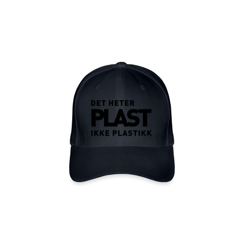 Det heter plast - Det norske plagg - Flexfit baseballcap