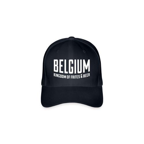 Belgium kingdom of frites & beer - Casquette Flexfit