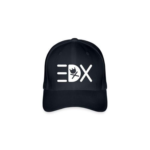 EDX Typo with Icon Gross - Flexfit Baseball Cap