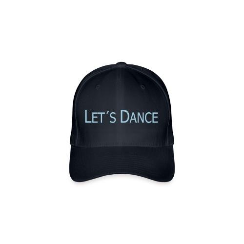 lets dance logo neu schrift 10cm - Flexfit Baseballkappe