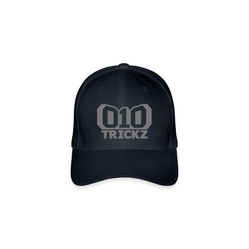 logo zwart wit - Flexfit baseballcap
