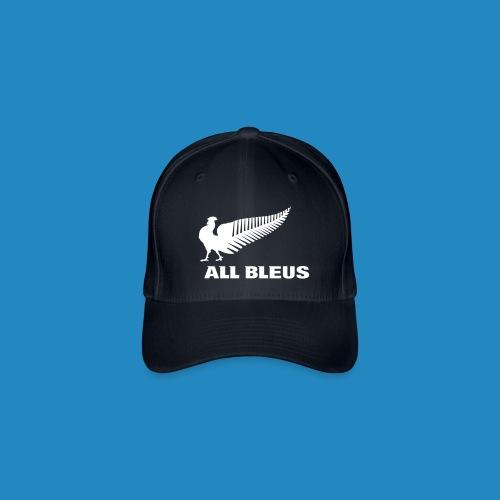 all_bleus_logo_white - Casquette Flexfit