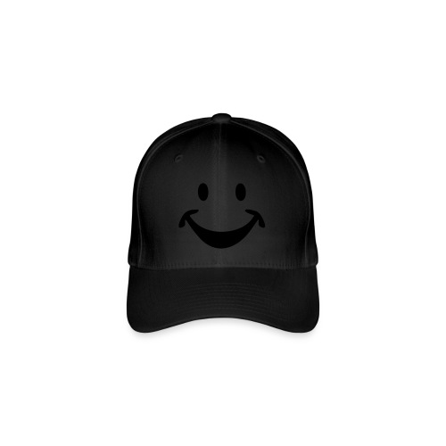SMILEY face - Flexfit Baseballkappe