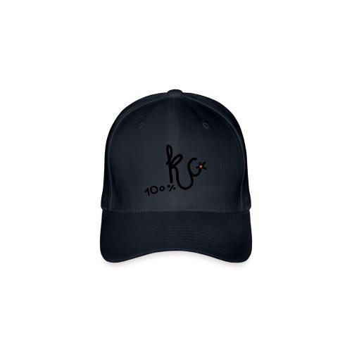 100%KC - Flexfit baseballcap