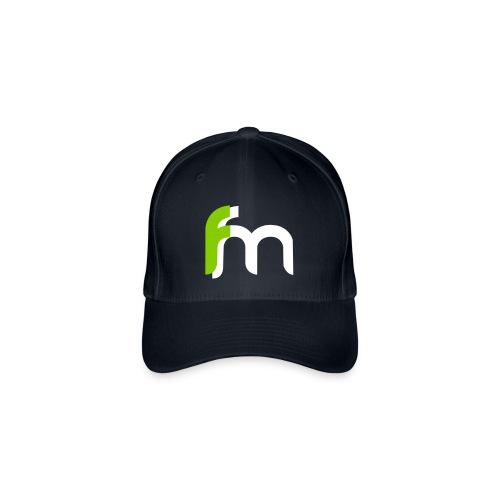 Logo ffm ohne Kreis - Flexfit Baseballkappe