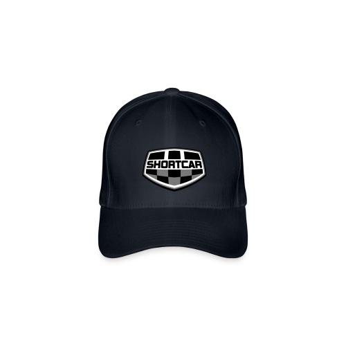 Sort Hvitt logo vektor - Flexfit baseballcap