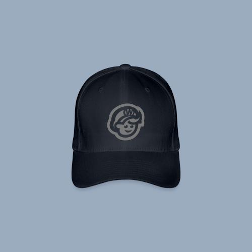 logo bb spreadshirt bb kopfonly inv - Flexfit Baseball Cap