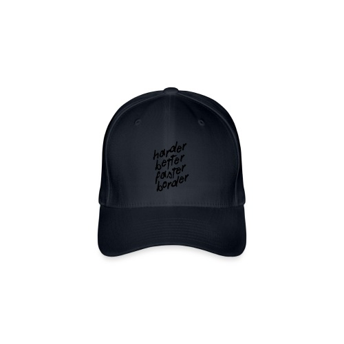 Better Faster Border - Casquette Flexfit