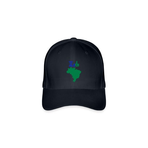 I like Brasil Brésil Brazil - Casquette Flexfit