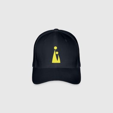 personas - Gorra de béisbol Flexfit