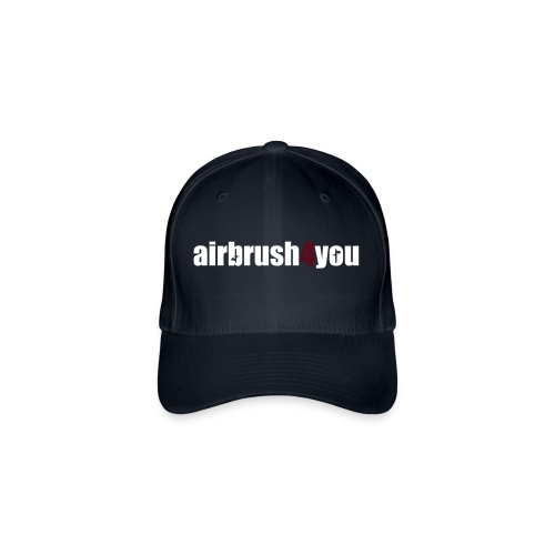 Airbrush - Flexfit Baseballkappe
