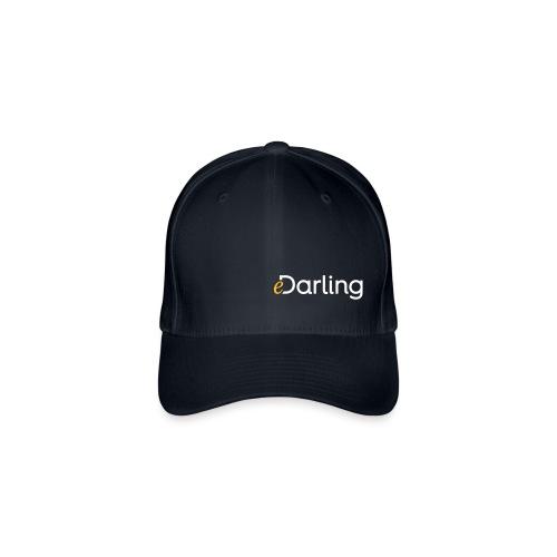 eDarling Logo Light - Flexfit Baseballkappe