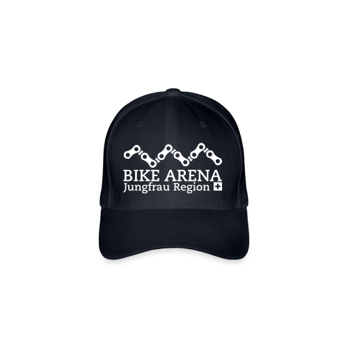 Bike Arena White - Flexfit Baseballkappe