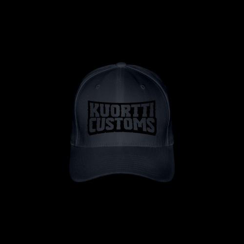 kuortti_customs_logo_main - Flexfit lippis