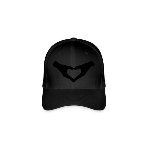 Herz Hände / Hand Heart 2 - Flexfit Baseballkappe