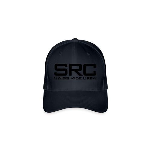 SRC Snapback Schwarz - Flexfit Baseballkappe