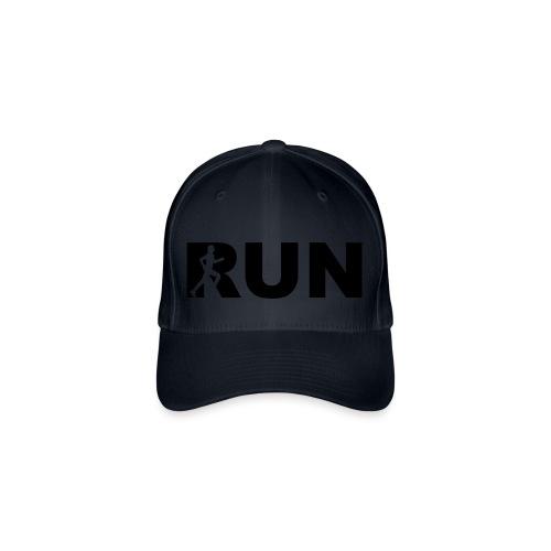 run running woman - Flexfit Baseballkappe