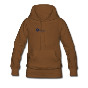 Logo DomesSport Blue noBg - Frauen Premium Hoodie