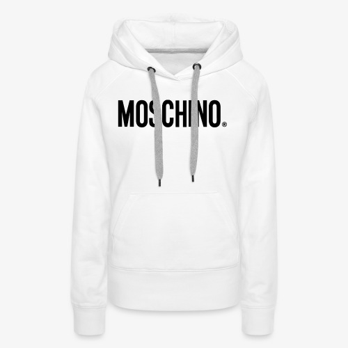 MOSCHINO - Sudadera con capucha premium para mujer