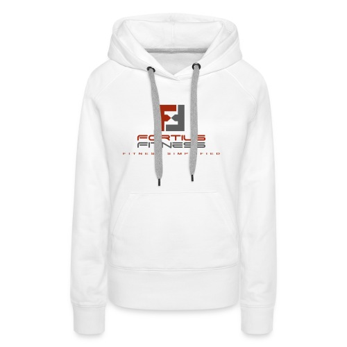 Fortius Fitness - Dame Premium hættetrøje