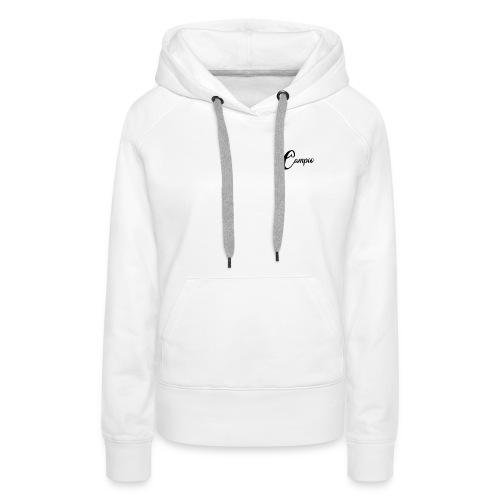 Campio sweat shirt a capuche - Sweat-shirt à capuche Premium pour femmes
