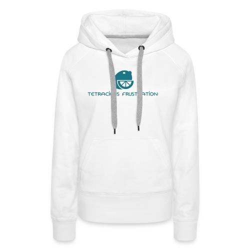 Coloured Tetracious Logo - Women's Premium Hoodie