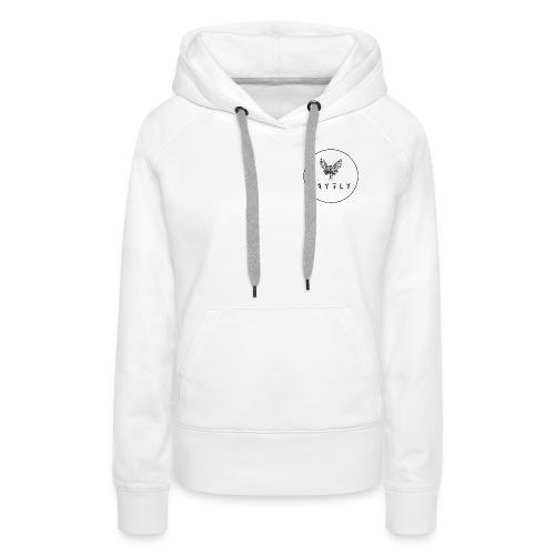 MAYFLY - CERCLE - Sweat-shirt à capuche Premium pour femmes