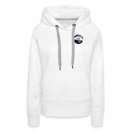 Zu zweit um die Welt - Logo - Frauen Premium Hoodie