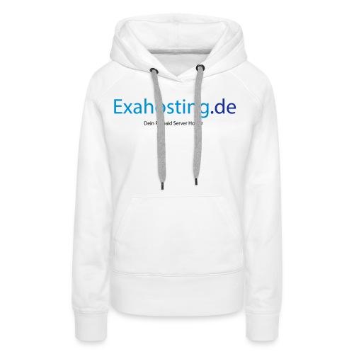 Exahosting Front - Frauen Premium Hoodie