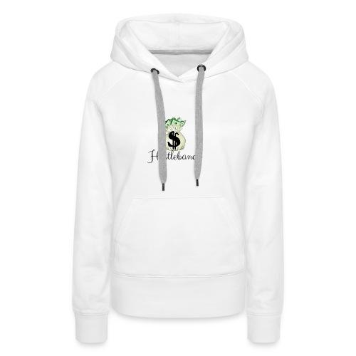 Hustlebande Logo - Frauen Premium Hoodie