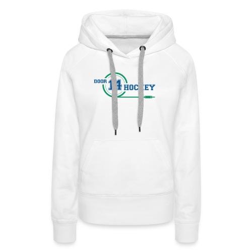 D14 HOCKEY LOGO - Women's Premium Hoodie
