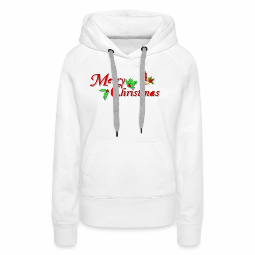 -Merry Christmas- - Frauen Premium Hoodie