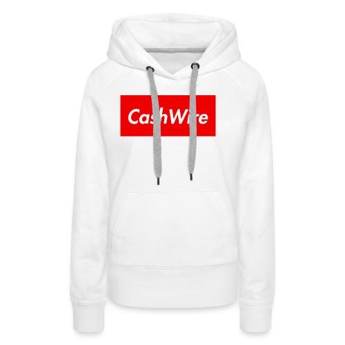 CashWire Box Logo Apparel - Women's Premium Hoodie