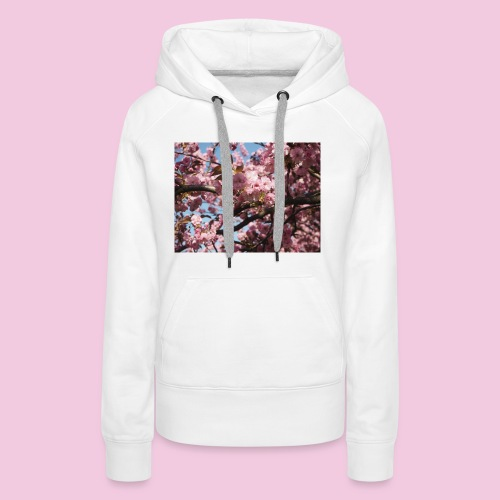 Japanische Kirschblütten - Frauen Premium Hoodie