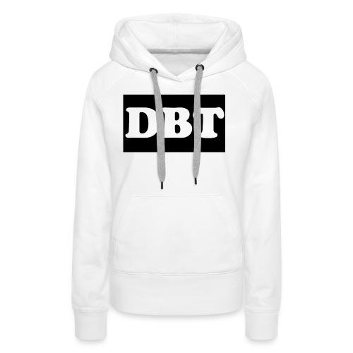 DBT Logo - Frauen Premium Hoodie