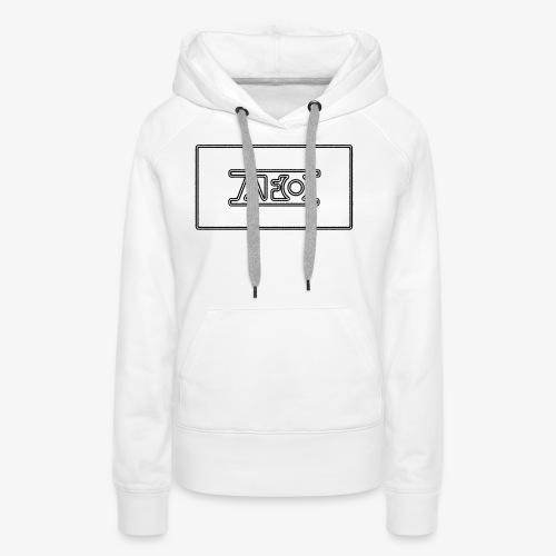 AFO 18 Transparent schwarz - Frauen Premium Hoodie