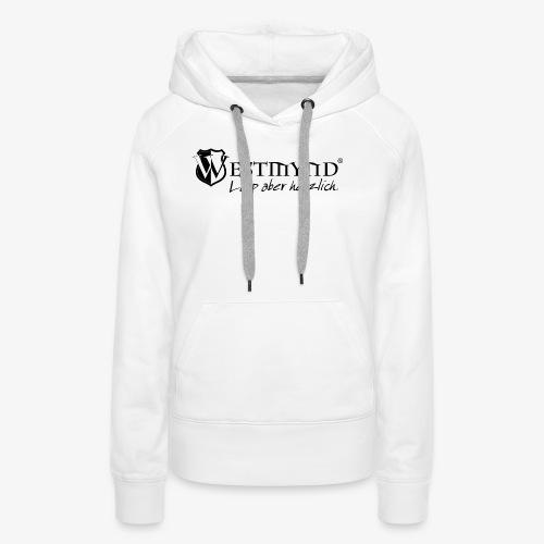 Westmynd - Larp aber herzlich SCHWARZ - Frauen Premium Hoodie