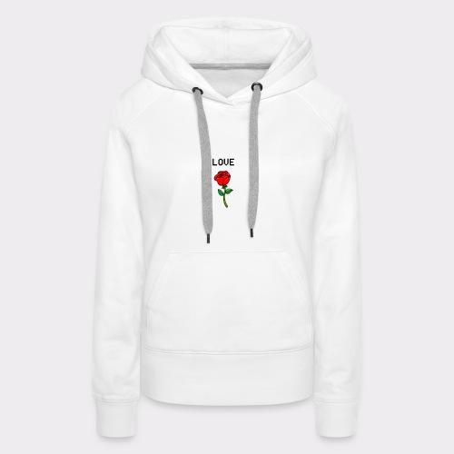 Love B. - Dame Premium hættetrøje