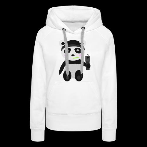 Gangsta-Panda - Frauen Premium Hoodie