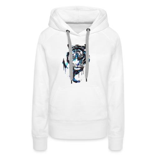 Blue Tiger - Premium Shirt - Frauen Premium Hoodie