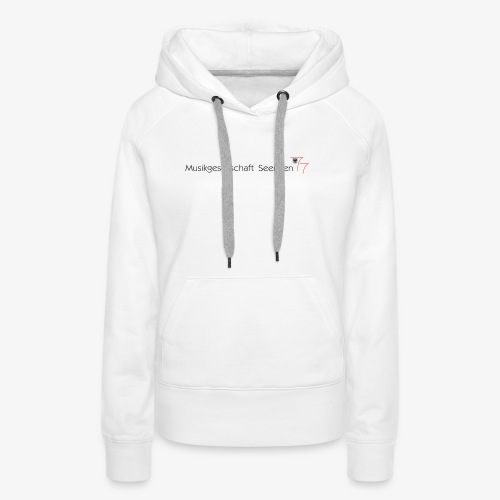 Logo MGS - Frauen Premium Hoodie