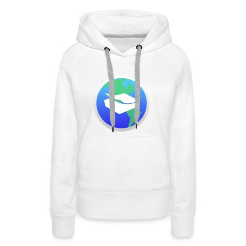 kaeru world icon - Women's Premium Hoodie
